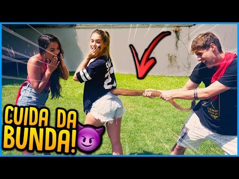 Jogos de meninas - MENINOS VS MENINAS: CUIDA DA BUNDA!! [ REZENDE EVIL ]