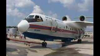 Beriev Be-200 Altair (amphibious aircraft) promotional video