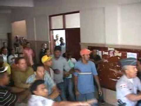 Palacio de Justícia Convertido en un Ring de Boxeo por el Caso Giselle