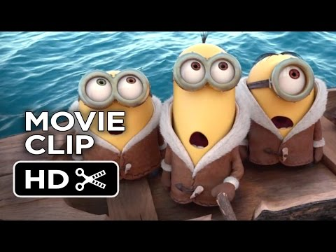 Minions Official Movie Clip #1 - New York (2015) - Despicable Me Prequel HD thumbnail
