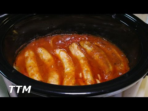 , title : 'Sausage, Peppers, and Onions in the Crock Pot Slow Cooker'