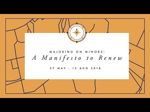 A Manifesto to Renew | Focused on the Kingdom
