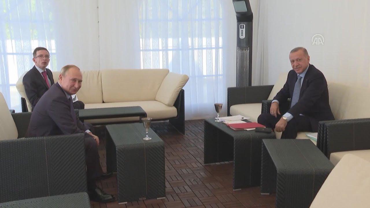 Συνάντηση Ερντογάν Πούτιν στο Σότσι