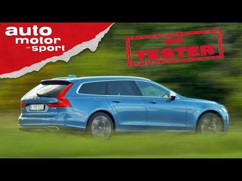 Volvo V90 D4: Der Ikea-Einkauf-Bezwinger - Die Test ...