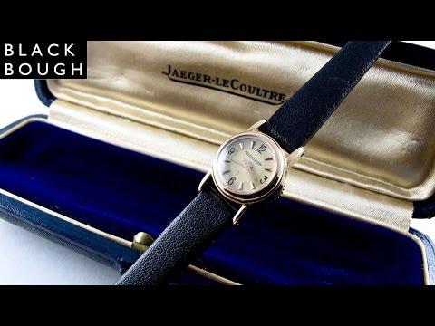 Jaeger-LeCoultre pink gold vintage wristwatch, circa 1948_Legjobb videók: Karóra