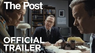 The Post | Official Trailer [HD] | 20th Century FOX