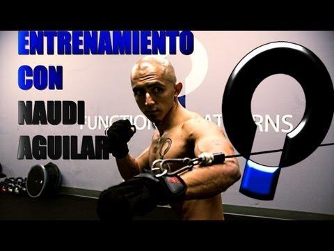 Entrenamiento funcional para los abdominales con Naudi Aguilar 2013