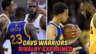 The HISTORY of the Warriors vs Cavaliers RIVALRY! Warriors Cavaliers 2017 NBA Finals Preview