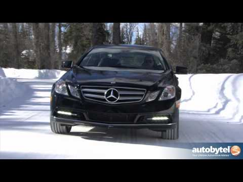 2012 Mercedes Benz E350 Coupe Video Road Test and Review