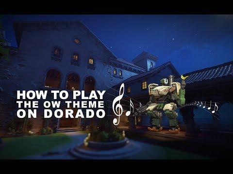 如何在多拉多演奏鬥陣特攻主題曲