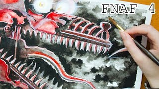 Speed Painting/Drawing FNAF 4 - NIGHTMARE FOXY