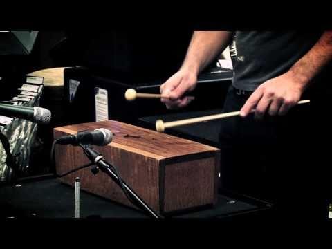 Stephen Perkins – African Slit Drum at Guitar Center Sessions