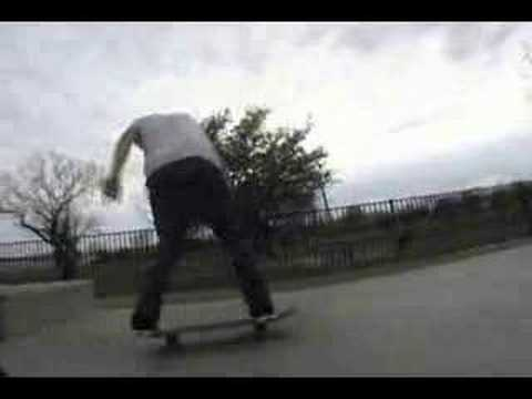 Zach Sanford skateboarding
