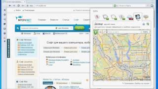 Демонстрация функций Opera от Яндекс