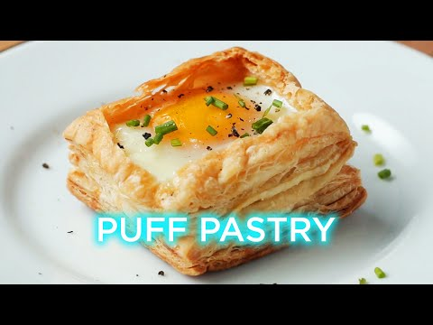 Puff Pastry Breakfast Cup (видео)