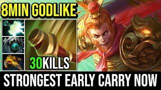 Video Monkey King is the Strongest Early Carry Now ? 8MIN GODLIKE 30KILLS 2xUltrakill By Moo | Dota 2 MP3, 3GP, MP4, WEBM, AVI, FLV Desember 2018