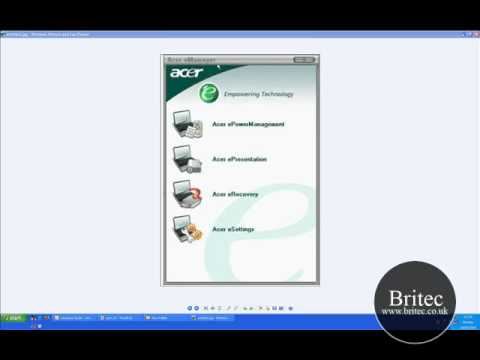 Acer eRecovery Manager Lost Password Recovery by Britec