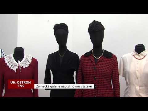 TVS: Uherský Ostroh - Výstava historických oděvů v Zámecké galerii