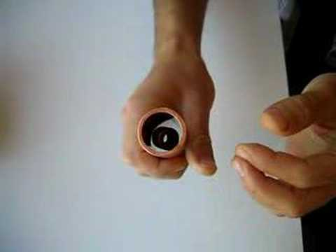 Dropping Magnets Through a Copper Tube Yields Awesomeness