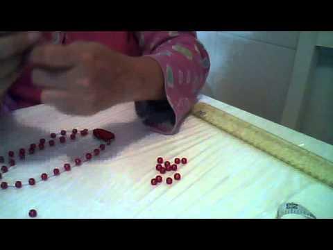 paso a paso de collar de perlas con alambre de aluminio