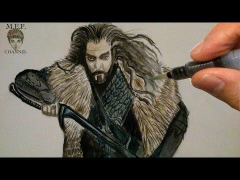 Let's draw Thorin Eichenschild (von