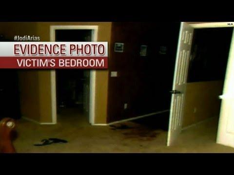 Gruesome crime scene pics shown in Arias trial