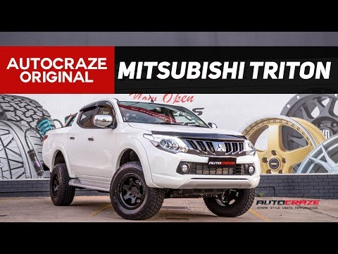 🛡️ WARMONGER 🛡️ // Mitsubishi Triton Mag Wheels and Tyres - Rotiform Six Rims | AutoCraze 2017