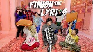 Video Gen Halilintar Lupa Lirik - Finish The Lyrics Challenge Part 2 MP3, 3GP, MP4, WEBM, AVI, FLV Desember 2018