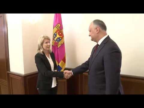 Președintele Republicii Moldova a avut o întrevedere cu Ambasadorul Republicii Finlanda