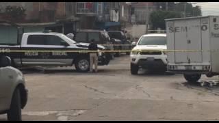 Esta mañana un hombre fue asesinado a balazos en la calle Puertos Libres casi esquina con 21 de Marzo de la colonia Vibar.