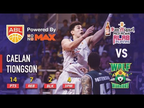 Caelan Tiongson Makes 4 Triples To Finish With 14 Points For Alab