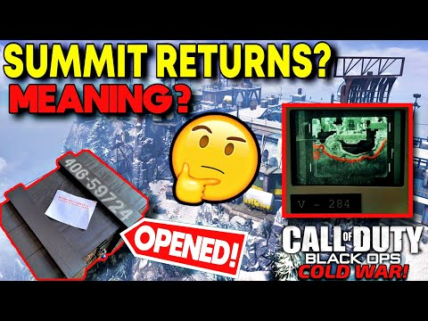 SECRET COD 2020 MYSTERY CRATE OPENED! Summit Returns, BLACK OPS COLD WAR REVEAL, NEW TEASER MEANING?