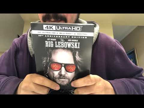 The Big Lebowski 4K Ultra HD Blu-Ray Unboxing