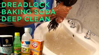 Video Dreadlocks Baking Soda Deep Clean Tutorial/Review MP3, 3GP, MP4, WEBM, AVI, FLV Juli 2018