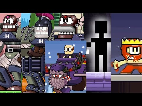 Dan the man: All bosses (except Halloween)