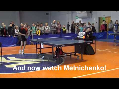 Violence in Table Tennis: Sore-Loser Table Tennis Kid Just Straight Shoves Kid Umpire Out Of Chair. Parents Do Nothing.