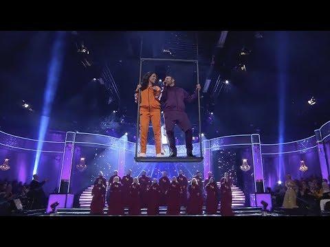 Magiska öppningsnumret i premiären av Let's dance 2019