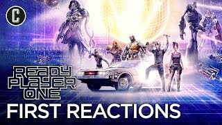 Video First Ready Player One Reactions - Spielberg's Return To Blockbuster Filmmaking MP3, 3GP, MP4, WEBM, AVI, FLV Maret 2018