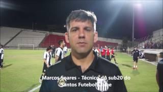 Marcos Soares e a importância de empate com gols fora de casa, contra o Cruzeiro, pelas quartas de final da Copa do Brasil...