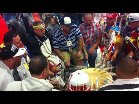 Stoney Creek Singers Lumbee Spring Powwow 2013