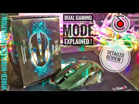 Review & Unboxing Offbeat RIPJAW Wireless Laser Gaming Mouse  (2.4GHz Wireless, Black, Grey)