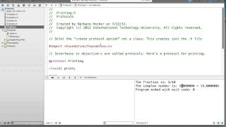 Fall 13-2 Objective-C - Lecture 10