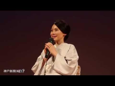東京の軍師官兵衛展に中谷美紀さん