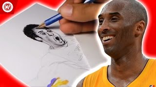 Kobe Bryant Tribute   #MambaDay Speed Drawing by Whistle Sports