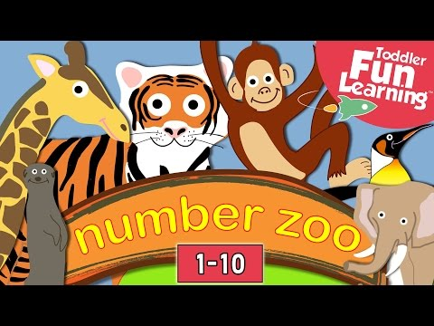 zoo - Watch the sequel to Number Zoo called Number Farm! https://www.youtube.com/watch?v=dihlSqall3k Learn to count with this fun and educational animal counting v...