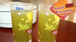 Healthy amla mint juice - summer juice / goose berry with mint leaves drink