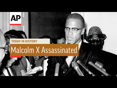 Malcolm X Assassinated - 1965   Today In History   21 Feb 17