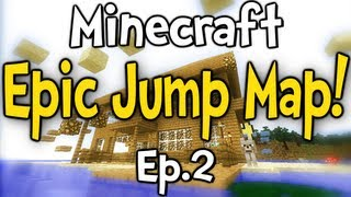 """Minecraft - Epic Jump Map w/ Clash Ep.2 """" There So Much Fun! """""""