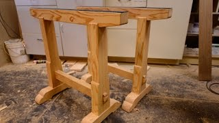 woodworking  building boss saw horses  how to