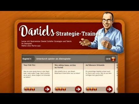 How To Skat #39: Daniels Strategie-Trainer in der Skat HD App